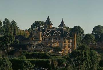 Castelo da Escola de Magia e Bruxaria, no interior de São Paulo (Foto: Escola de Magia e Bruxaria/Divulgação)