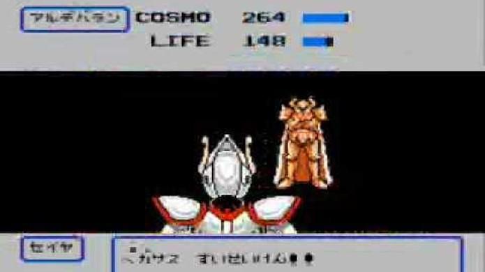 Cavaleiros do Zodíaco tinha um estranho jogo de ação e RPG para o Nintendo 8 Bits (Foto: YouTube)