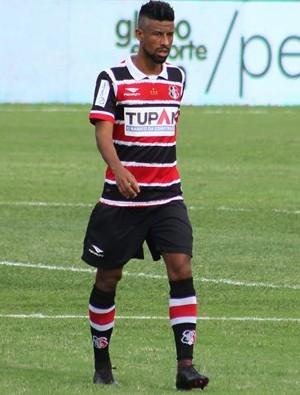 Léo Moura, jogador do Santa Cruz (Foto: Divulgação site oficial do Santa Cruz)