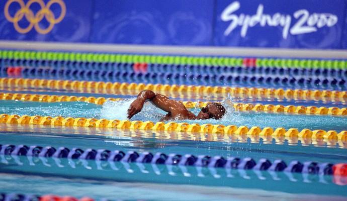 natação Eric Moussambani olimpíada 2000 (Foto: Agência Getty Images)