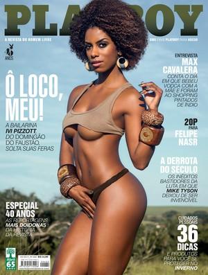 Capa da edição da Playboy de maio, com entrevista de Felipe Nasr  (Foto: Divulgação)