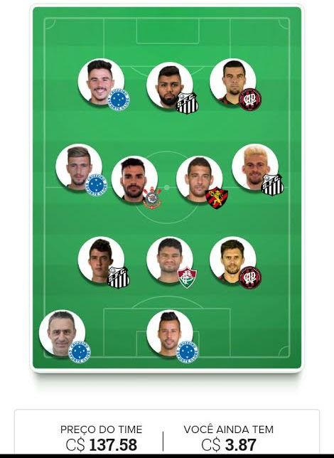 rodada 13 Cartola FC Hespana EC