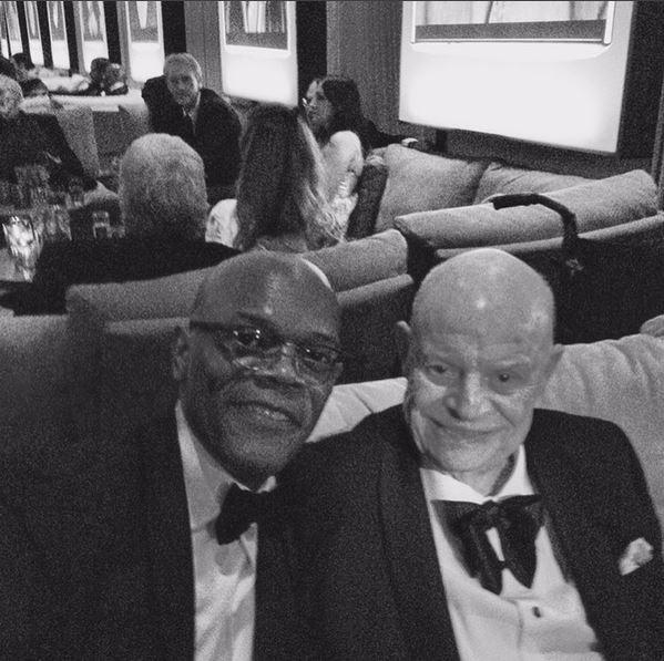 Samuel L Jackson e Don rickles (Foto: reprodução/instagram)