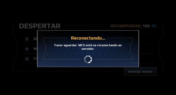 Modern Combat 5 exige conexão constante com a internet (Foto: Reprodução / Dario Coutinho)