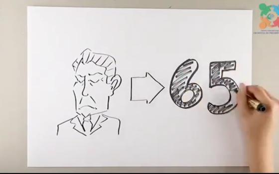Video da Anfip contra a reforma da Previdência (Foto: Reprodução)