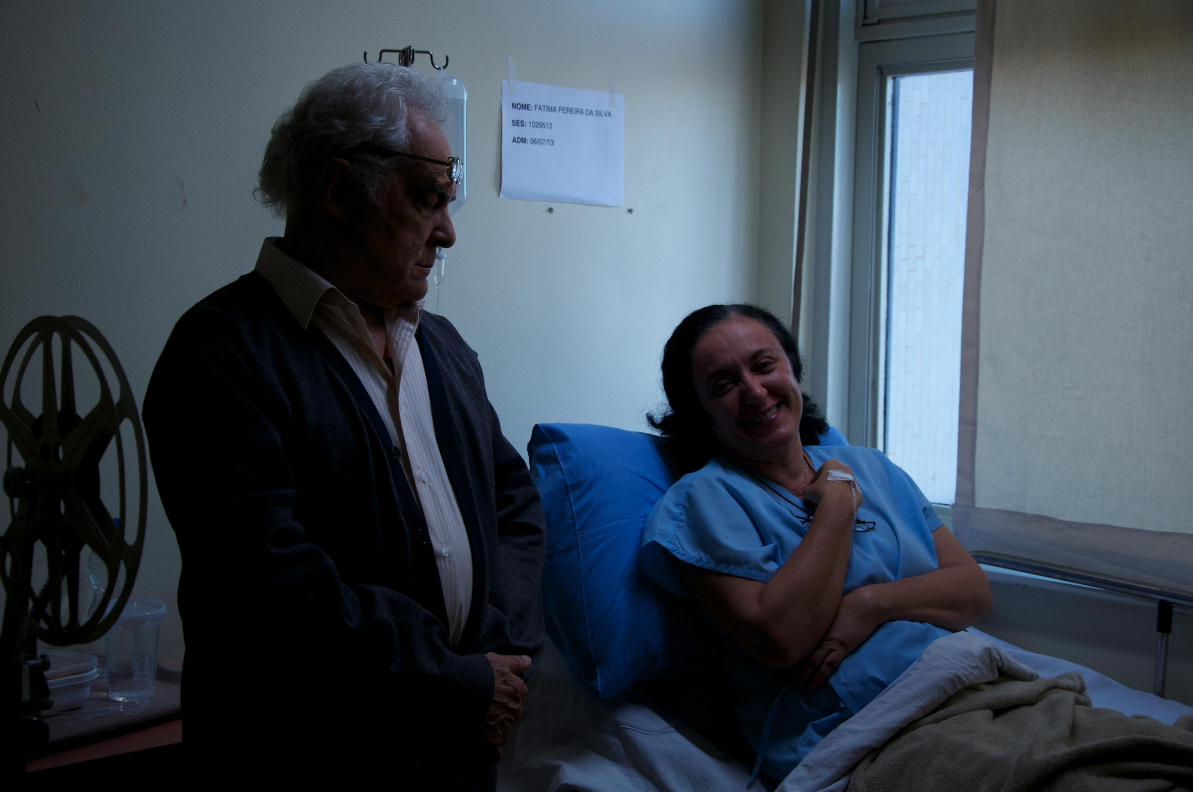 Os baianos Rita Assemany e Othon Bastos: casal se reencontra após anos (Foto: Divulgação)