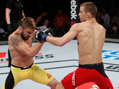 Jeremy Kennedy Rony Jason UFC Fortaleza (Foto: Getty Images)
