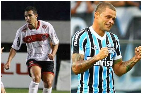 Brasil de Pelotas enfrenta o Grêmio pela quarta rodada do Gauchão (Foto: Montagem sobre fotos/Divulgação/Carlso Insauriga/Lucas Uebel)