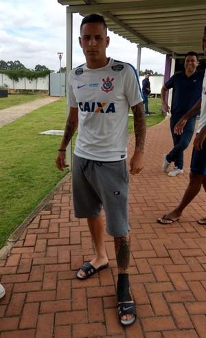 Guilherme Arana Corinthians (Foto: Diego Ribeiro)