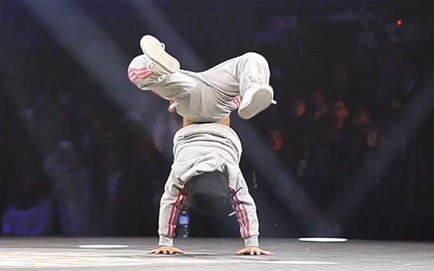 BGril Terra 'detonou' oponente em competição e vídeo virou hit (Foto: Reprodução)
