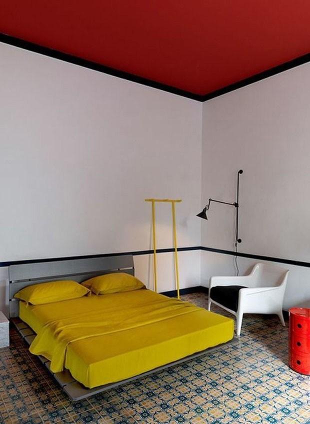 Quartos vermelhos 17 ideias para decorar com o tom casa - Tom interiores ...