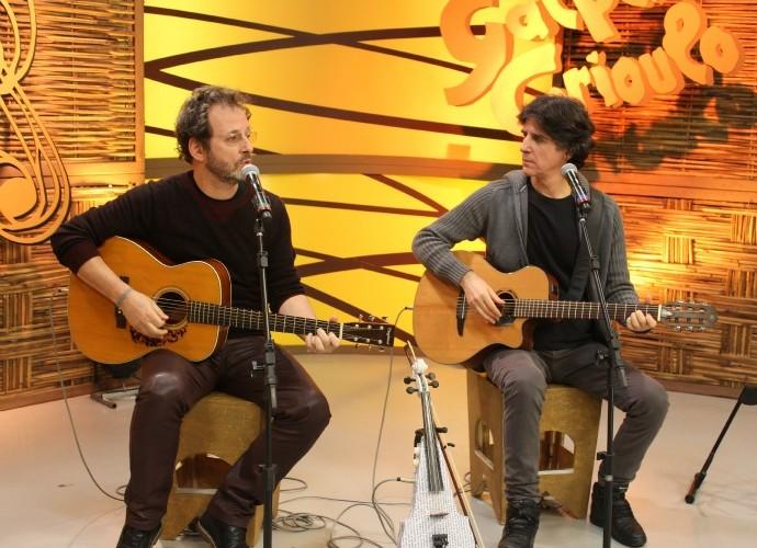 Kleiton e Kledir (Foto: Nice Sordi/RBS TV)