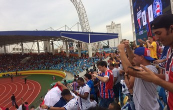 Tietagem, tensão e alegria: no meio da torcida, Nonato celebra acesso tricolor