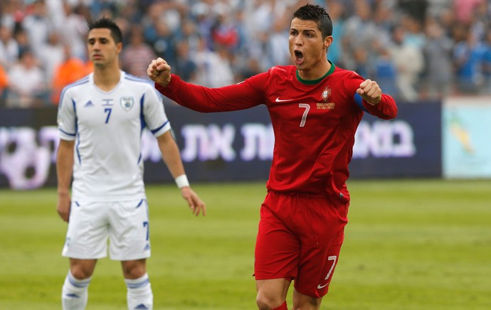 Cristiano ronaldo portugal israel (Foto: Agência Reuters)