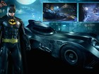 'Batman: Arkham Knight' ganha traje e batmóvel do filme de Tim Burton