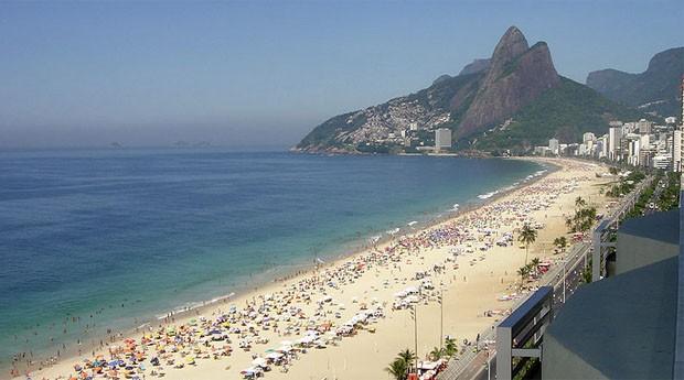 Rio de Janeiro: cidade é uma das mais visitados do Brasil (Foto: Wiki Commons)