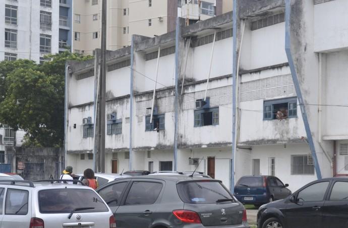 Treinos não aconteceram nesta terça, no Estádio Salvador Costa, em Bento Ferreira (Foto: Richard Pinheiro/Globoesporte.com)