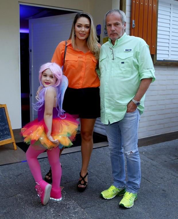Maysa com Jayme Monjardim e  Tânia Mara (Foto: AgNews)