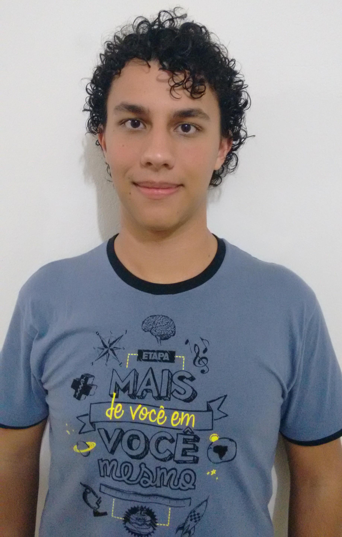 Henrique Barbosa de Oliveira - tem 18 anos, é de Valinhos (SP) e cursa o 2º ano do ensino médio no colégio Etapa (Foto: divulgação)