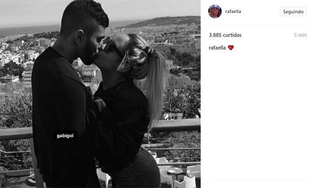 Rafaella Santos e Gabigol (Foto: Reprodução/Instagram)