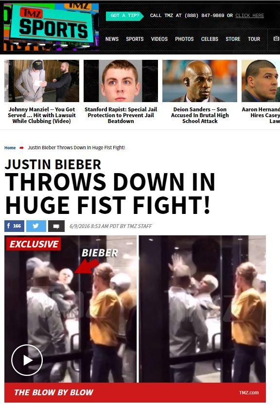 Justin Bieber (Foto: Reprodução / TMZ)