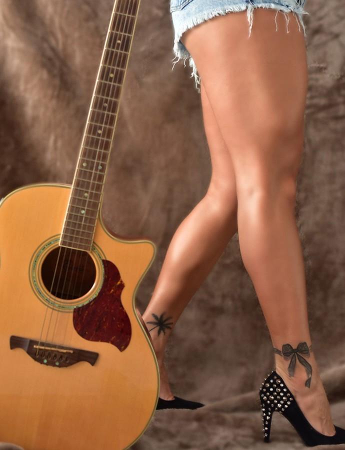Bianca ama música e tatuagens (Foto: Anne Barret)