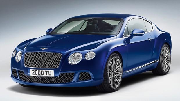 Bentley Continental GT Speed (Foto: Divulgação)