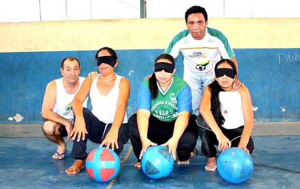 Equipe feminina da Udevima que disputaá o Campeonato Reional Norte/Nordeste (Foto: Michael Dantas/Sejel)