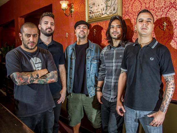 Banda CPM 22 celebra 20 anos de hardcore com show em Lauro de Freitas (Foto: Divulgação)