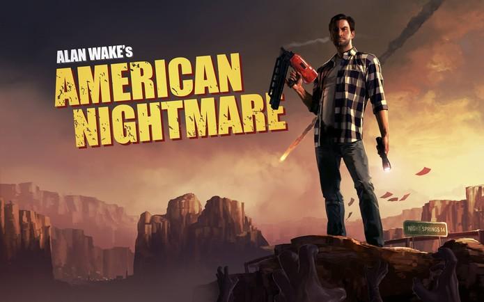 Alan Wake American Nightmare na Xbox Live (Foto: Divulgação/Microsoft)