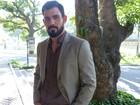 Juliano Cazarré se derrete ao falar dos filhos e da mulher: 'Orgulhoso'
