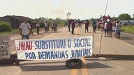 BR-364 é fechada por manifestantes entre Rondônia e Acre