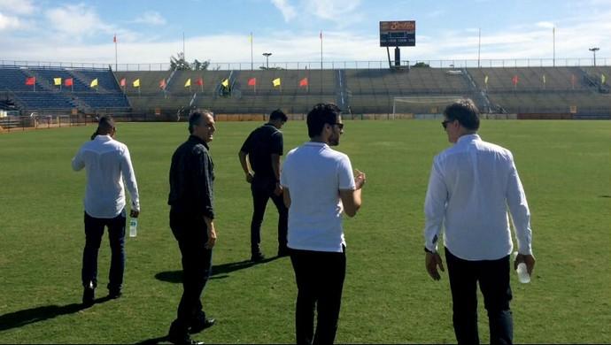 Inter conhece campo de treinamento nos EUA (Foto: Inter / DVG)