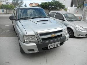 Um dos criminosos estava dentro do carro esperando os outros dois (Foto: Blog Repórter Eduander Silva)
