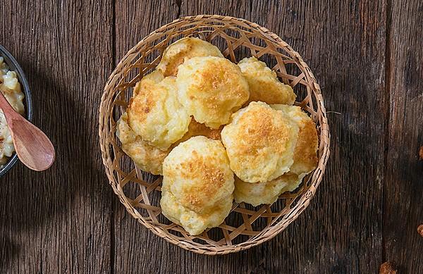 Pão de queijo de tapioca (Foto: Tomás Rangel/ Divulgação)