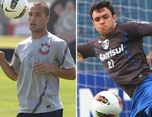 Guilherme Corinthians Kleber Corinthians (Foto: Editoria de Arte / Globoesporte.com)