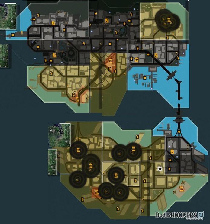 Mapa de Infamous: Second Son revela um grande mundo para explorar (Foto: Dual Shockers)