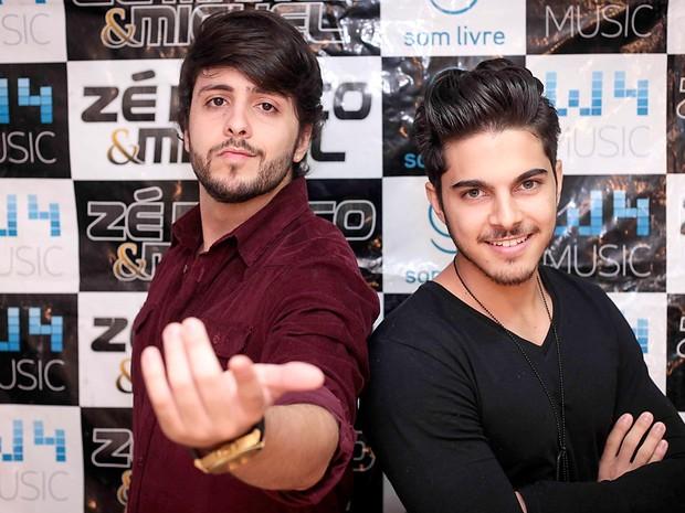 A dupla sertaneja Zé Marco & Miguel, que se apresenta nesta sexta (12) na Bamboa, em Brasília (Foto: Rayan Ribeiro/Divulgação)