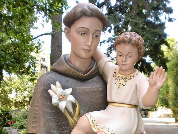 Santo Antônio imagem Seminário Juiz de Fora 2 (Foto: Assessoria Arquidiocese JF/ Divulgação)