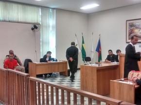 Wadson Miguel Gualberto foi condenado há 17 anos de regime fechado (Foto: Patrícia Belo / G1)