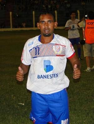 Luciano Beré, meia-atacante do Colatina (Foto: Toninho Costa/Colatina SE)