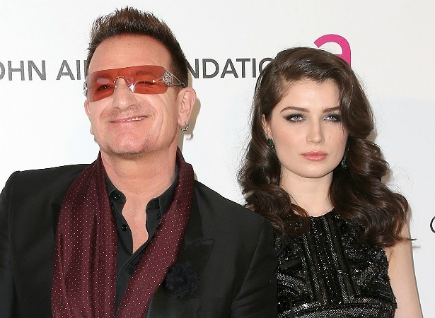 Bono Vox e Eve Hewson (Foto: Getty Images)