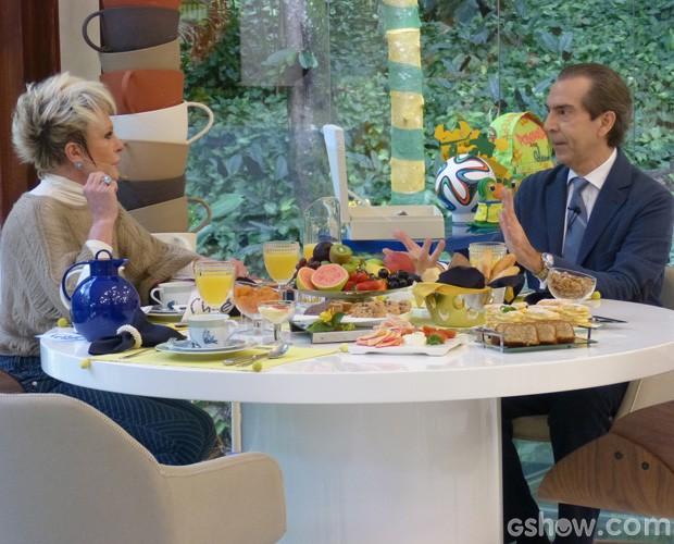 ana maria braga dermatologista mais voce cafe (Foto: Mais Você/ TV Globo)