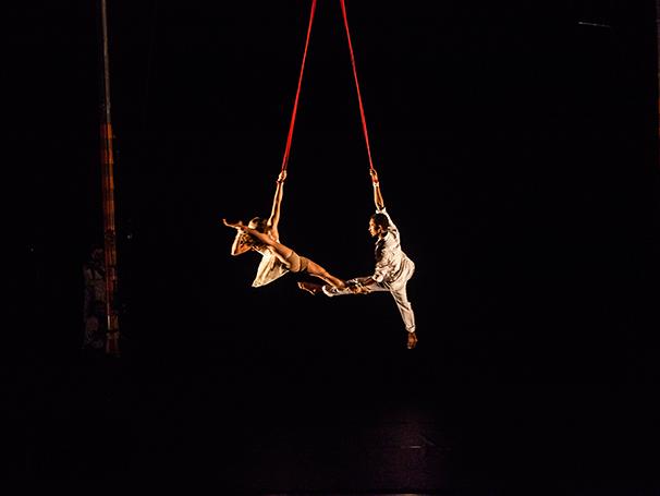 Mostra Artística do Circo Crescer e Viver   (Foto: Guilherme Maia)