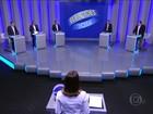 Debate na Globo reúne cinco candidatos ao governo do RJ
