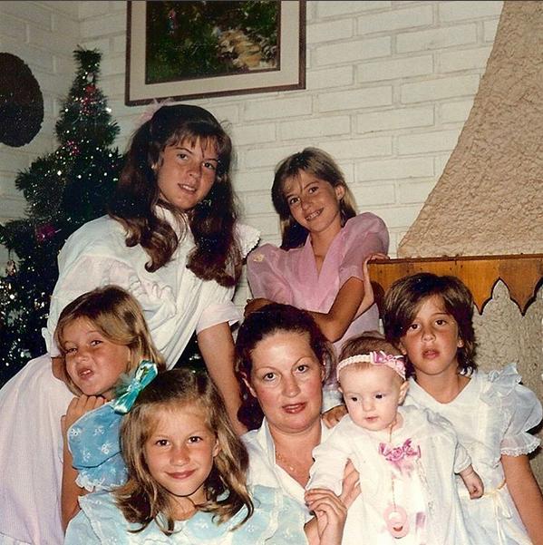 Gisele Bündchen e família (Foto: Reprodução/Instagram)