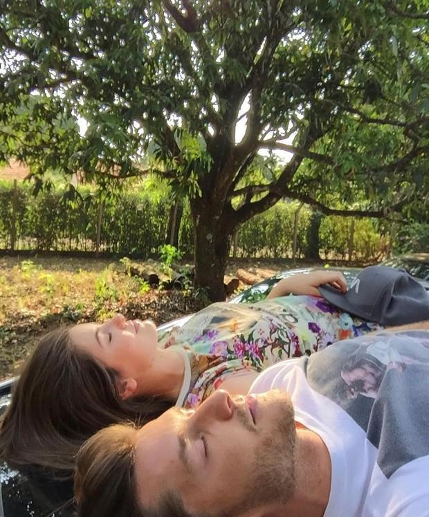 Camila e Klebber: paz, amor, luz e sabedoria (Foto: Reprodução /  Instagram)