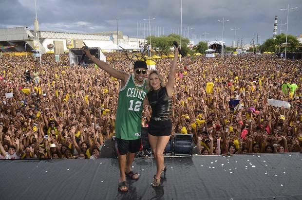 Claudia Leitte e Naldo (Foto: Fred Pontes/ Divulgação)