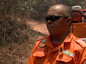 Major Rivelino Moura, do Corpo de Bombeiros (Foto: Reprodução/TV Clube)