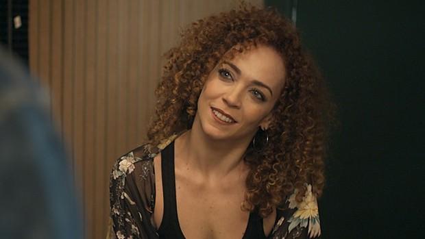 Laila Garin entra em Rock Story como ex de Gordo  (divulgação)